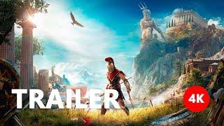 Assassin's Creed Odyssey - Reveal Trailer E3 2018 4K