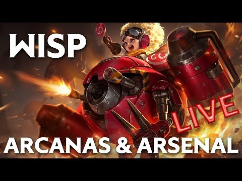WISP NOUVEAU HEROS BUILD ADC - ARENA OF VALOR