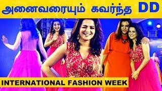 DD Fascinates Every One with Sizzles Ramp Walk | 8th Edition Chennai INTERNATIONAL FASHION WEEK - 19