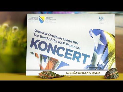 Koncert vojnih orkestara održan u BKC-u TK Tuzla - Ljepša strana dana - 26.03.2017.
