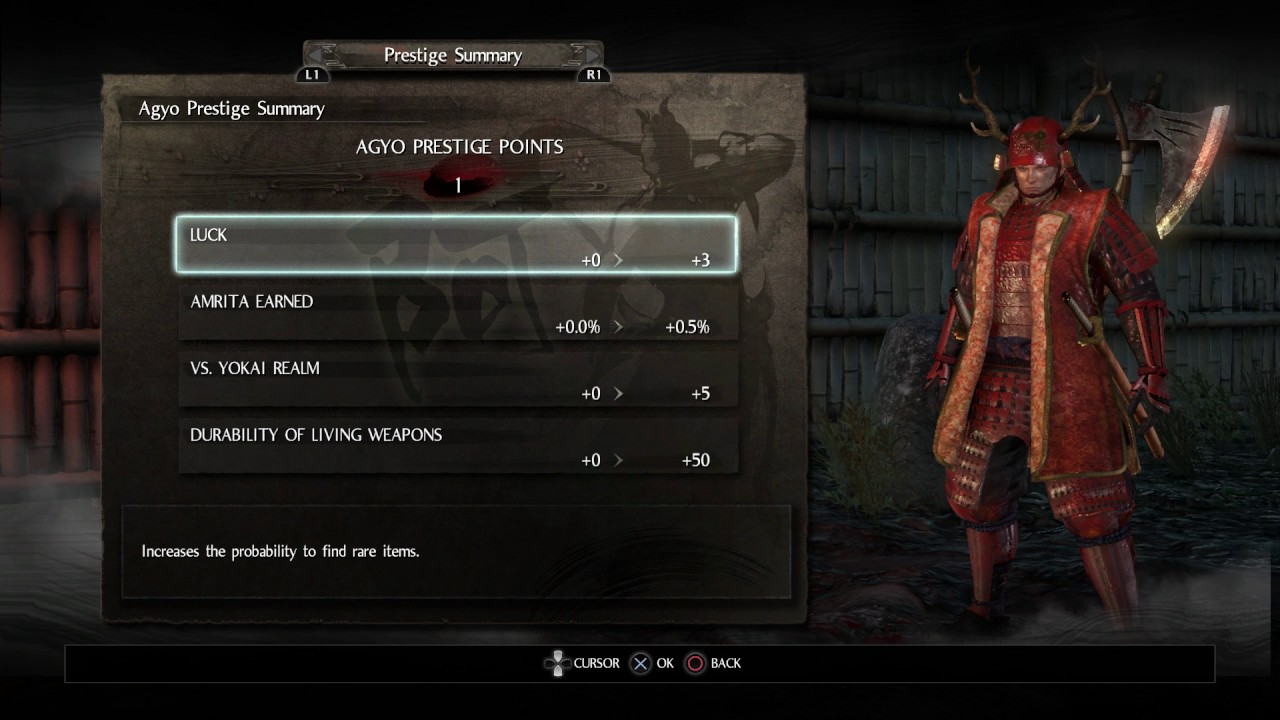 Nioh mission 2 title requirements unlocked reputation for Espejo yata nioh
