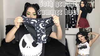 Goth/Grunge Summer Haul | (Dolls Kill, Kill Star, Black Craft Cult, Hot Topic and more!)