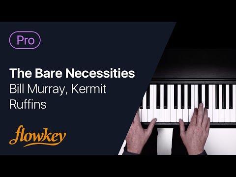The Bare Necessities – Bill Murray, Kermit Ruffins (Piano Cover)