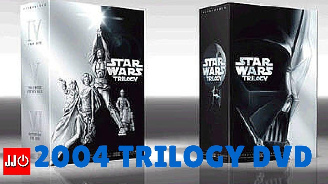 Star Wars Original Trilogy 2004 Dvd Trailer Youtube