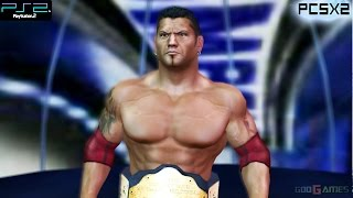 WWE SmackDown! vs. RAW 2006 - PS2 Gameplay 1080p (PCSX2)