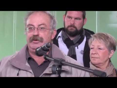 Discours et Remise de la clef du Jardin Biologique du Domaine de Fabregas