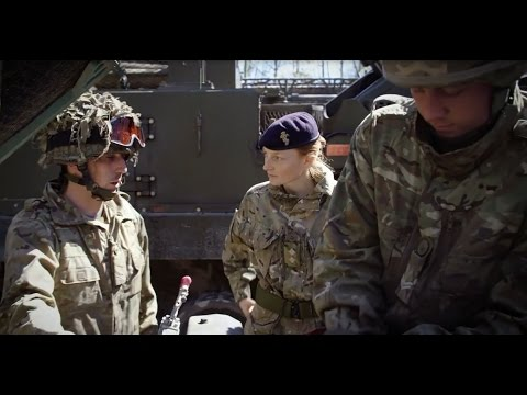 The Royal Electrical & Mechanical Engineers - REME Officer