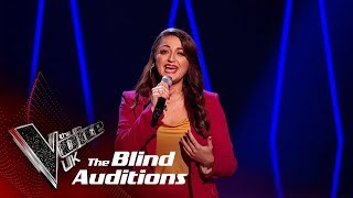Christina Ellinas' 'Lullaby' | Blind Auditions | The Voice UK 2019