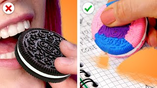 Download PRANKS DIY POUR L'ÉCOLE | GOMME OREO, LETTRE D'AMOUR ET DES SURPRISES Mp3 and Videos