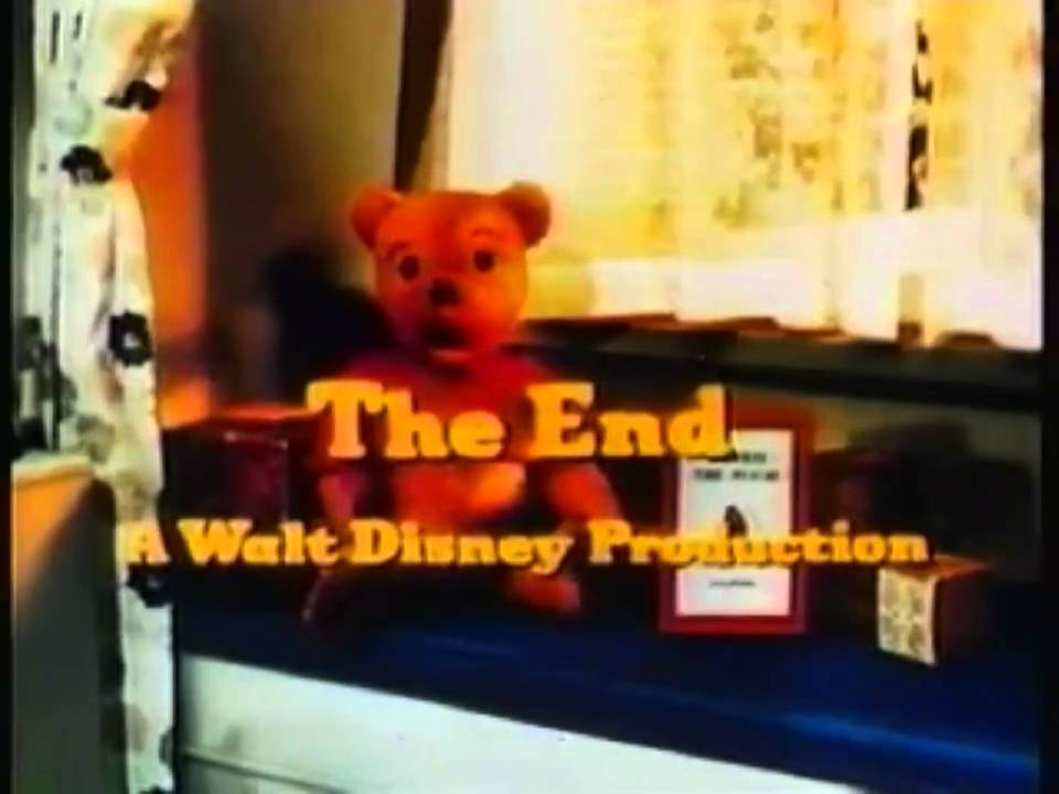 Closing To Winnie The Pooh And A Day For Eeyore 1993 Vhs