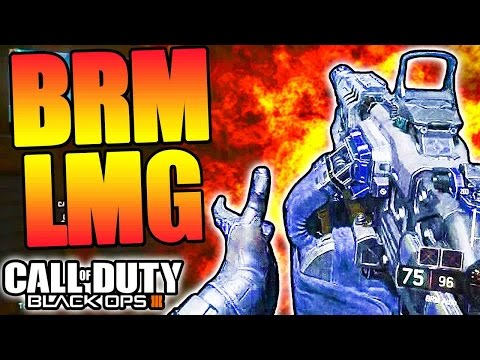Black Ops 3 - BEST LMG! - 58 Kills BRM LMG Gameplay (BO3 Multiplayer)