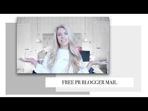 ANOTHER BLOGGER MAIL UNBOXING PR HAUL | Freya Farrington