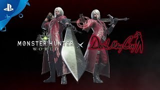 Monster Hunter: World - Devil May Cry collaboration | PS4