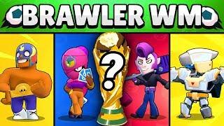 Brawler WM 2019! 🏆 | So KNAPP war es noch nie! | Brawl Stars deutsch