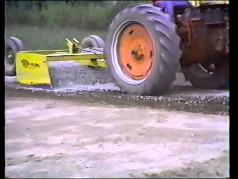 Terraplane - scraper and grader for road, field and more!
