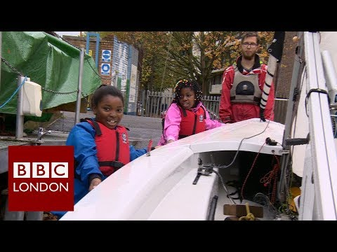 Sailing on the Thames - BBC London News