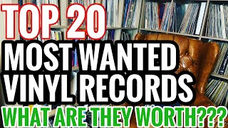 Top 20 Most Wanted Records Part II: What Are They Worth???