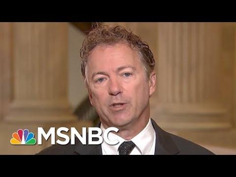 Senate To Vote On Senator Rand Paul's War Powers Repeal Proposal | Morning Joe | MSNBC