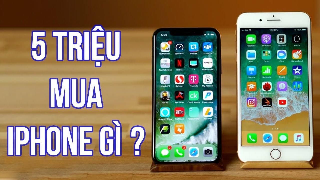 Dưới 5 triệu mua iPhone gì tại Di Động Việt ?