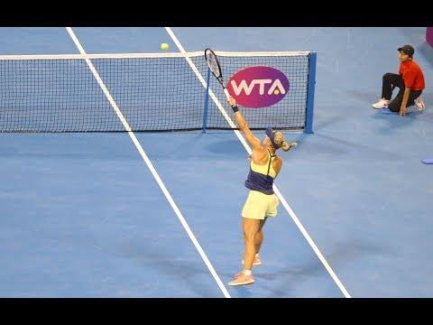 2018 Qatar Total Open Third Round | Angelique Kerber vs. Johanna Konta | WTA Highlights