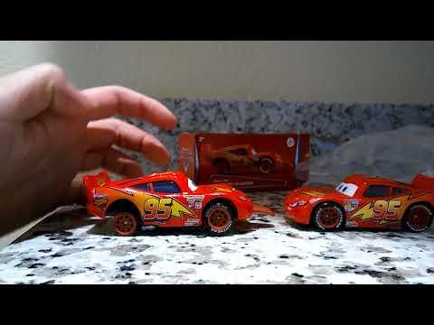 Cars 1 finish line lighting McQueen