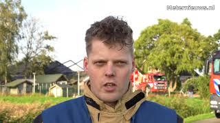 Twaalf honden na brand in schuur in Hasselt