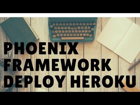 Learn the Phoenix Framework Deploy using Heroku - Part 2