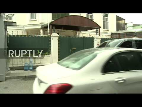 Live outside Saudi consul's house in Istanbul as police search expected