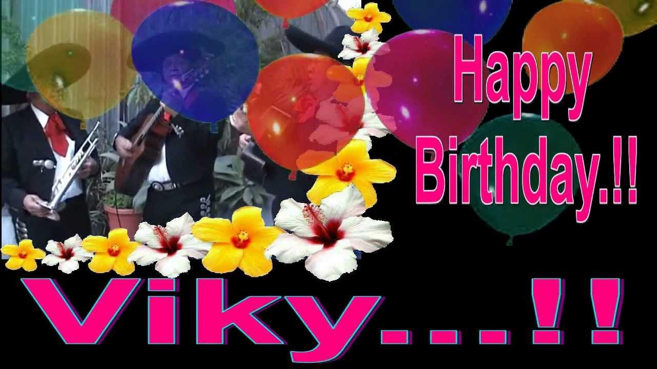 Feliz Cumpleaños Viky..!!