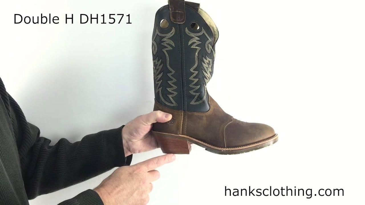 5f751b6faf0 Double H Mens 12