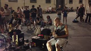 KNOCKIN' ON HEAVEN'S DOOR - Edwin One Man Band feat. Valerio Papa - Pisa - SBT 2015