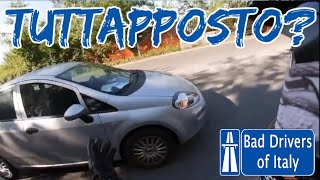 BAD DRIVERS OF ITALY dashcam compilation 06.18