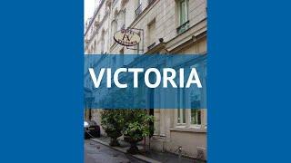 VICTORIA 2* Франция Париж обзор – отель ВИКТОРИЯ 2* Париж видео обзор