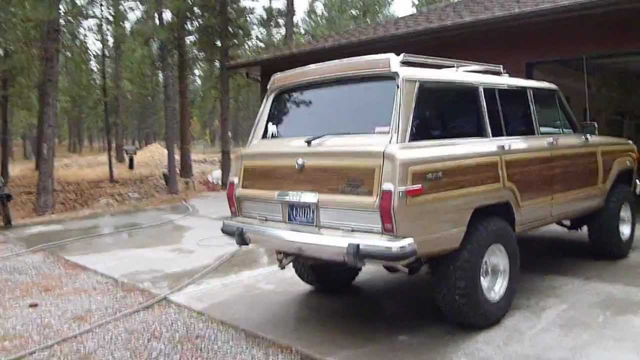 Jeep Grand Wagoneer >> 1989 Jeep Grand Wagoneer update. - YouTube