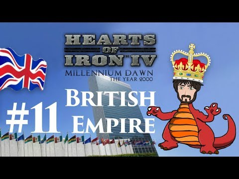 Hearts of Iron 4: Millennium Dawn - Restore the British Empire #11 | Looking at you, India!
