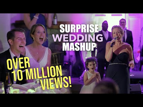 Best Maid of Honor Toast EVER! (Brides life told through musical mashup)