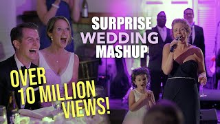 Best Maid of Honor Toast EVER! (Bride's life told through musical mashup)