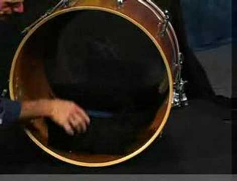 bob gatzen bass drum tuning youtube. Black Bedroom Furniture Sets. Home Design Ideas