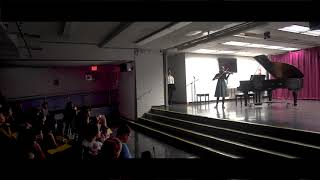 Sophie Kuliyeva violin --- Bronx House Winter Music Recital - December 8th, 2018