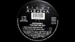 Alexandria - You Got The Key (Jersey Soul A.M.Demo Mix)