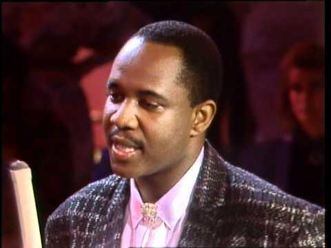 Dick Clark Interviews Freddie Jackson - American Bandstand 1986