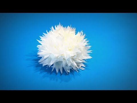 Paper Flower of Toilet Paper or Napkin Paper Flower   Easy Paper Crafts ART