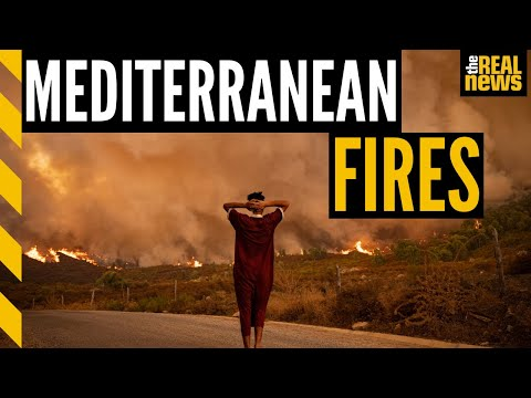 The Mediterranean is on fire