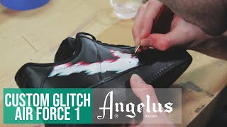 paint shoes with airbrush