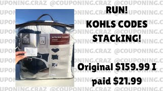 RUNN! Kohl's coupons stacking!!