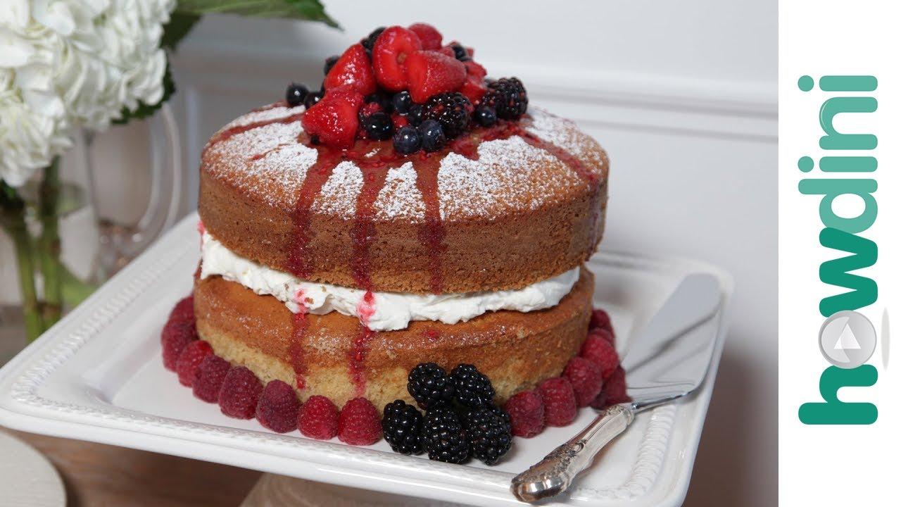 Buttermilk Cake With Blackberries Recipe — Dishmaps