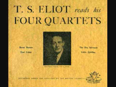 the four quartets But heard, half-heard, in the stillness between two waves of the sea ts eliot, four quartets.