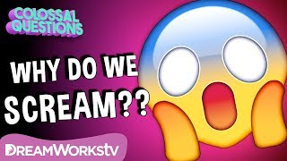 Why Do We Scream When We're Scared? | COLOSSAL QUESTIONS