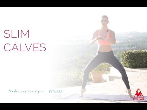 How to Get Slim Calves | Rebecca Louise
