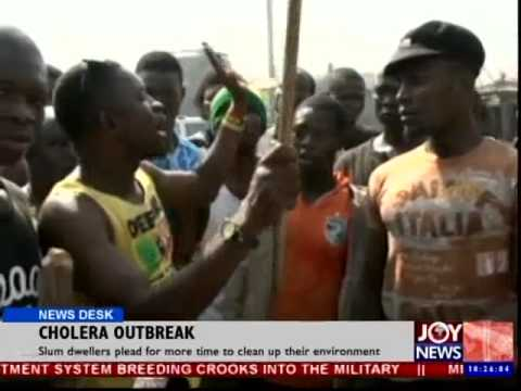 Cholera Outbreak - News Desk (3-9-14)